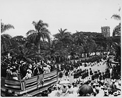US Marines leaving Iolani Palace grounds after Annexation ceremony (PP-36-1-026).jpg