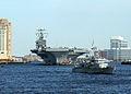 US Navy 030225-N-1743B-001 USS George Washington (CVN 73) passes by downtown Norfolk during her transit down the Elizabeth River.jpg