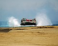 US Navy 070511-N-4774B-411 A U.S. Navy Landing Craft Air Cushion (LCAC) assigned to Assault Craft Unit (ACU) 5 deliver firefighting equipment and personnel from Los Angeles County Fire Department to Catalina Island in support o.jpg