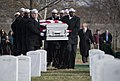 US Navy 171206-N-XG464-004 Radioman 3rd Class Howard W. Bean was laid to rest in Arlington National Cemetery.jpg