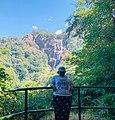 Udzungwa waterfalls as seen from far.jpg