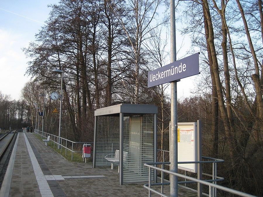 Ueckermünde station
