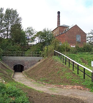 :en:Crofton Pumping Station, viewed from the c...