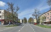 Ulica Francuska na wysokości ulicy Obrońców 2016.jpg