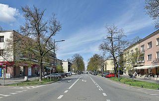 Warsaw District in Masovian, Poland