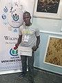Umar Askira at Wiktionary Editathon Kaduna.jpg