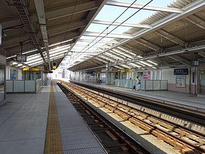 Umeyashiki Station (Tokyo) - Image: Umeyashiki Sta Platform