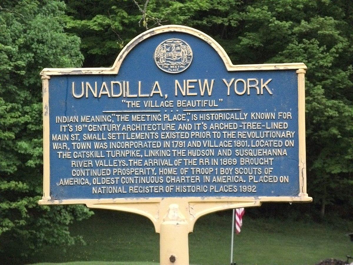Unadilla Village Historic District