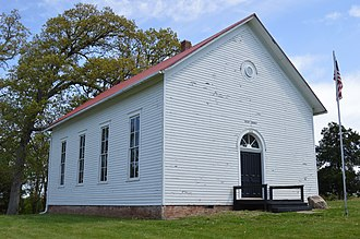 Long Creek Township, Macon County, Illinois - Union Church, a historic site in the township