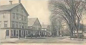 Milford, New Hampshire - Image: Union Square, Milford, NH