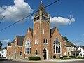 United Methodist Church, Mechanicsburg, blue sky.jpg