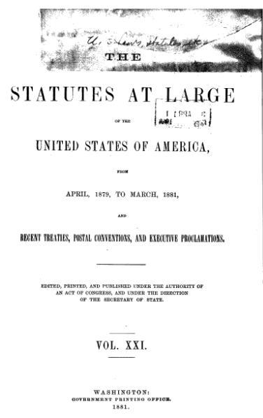 File:United States Statutes at Large Volume 21.djvu