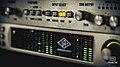 Universal Audio Apollo Quad + Dangerous Music D-Box, Parametric Studios.jpg
