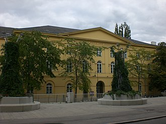 University of Music and Performing Arts Vienna - Main building.