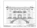 University of Alabama, President's House, University Boulevard, Tuscaloosa, Tuscaloosa County, AL HABS ALA,63-TUSLO,3B- (sheet 5 of 16).png