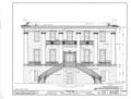 University of Alabama, President's House, University Boulevard, Tuscaloosa, Tuscaloosa County, AL HABS ALA,63-TUSLO,3B- (sheet 5 of 16).png