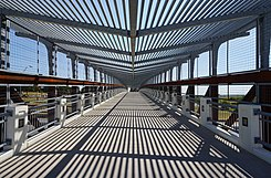 University of North Texas September 2015 40 (pedestrian bridge).jpg
