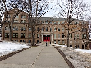 University of Wisconsin–Madison School of Education - Education Building on Bascom Hill