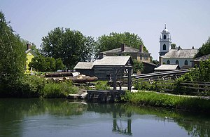 Agriculture in Upper Canada - Upper Canada Village, a heritage site preserving early Upper Canada's farming past