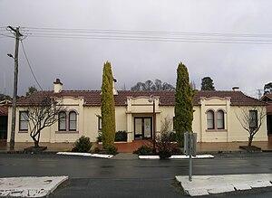 Uralla Shire - Uralla Shire Council chambers.