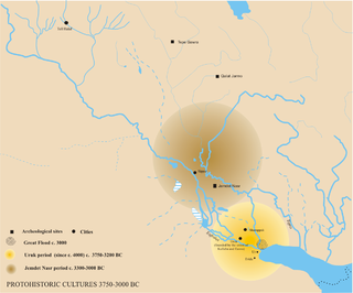 archaeological  culture of Mesopotamia