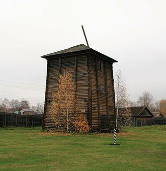 Ust-Borovaya Saltworks - The Resurrection (Voznesenskaya) salt tower
