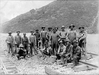 Carbon County Strike - Utah miners from the late 19th century.