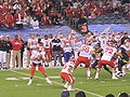 Utes on offense at 2009 Poinsettia Bowl 3.JPG