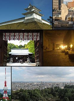 Utsunomiya Castle, Statue of gyozaFutaarayama Shrine, Oya Stone MuseumUtsunomiya Tower, City view from the tower