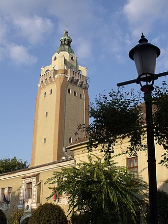 Kiskunhalas - The Tower of the Town Hall