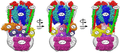 V-ATPase psuedo atomic model in three views, labeled.png