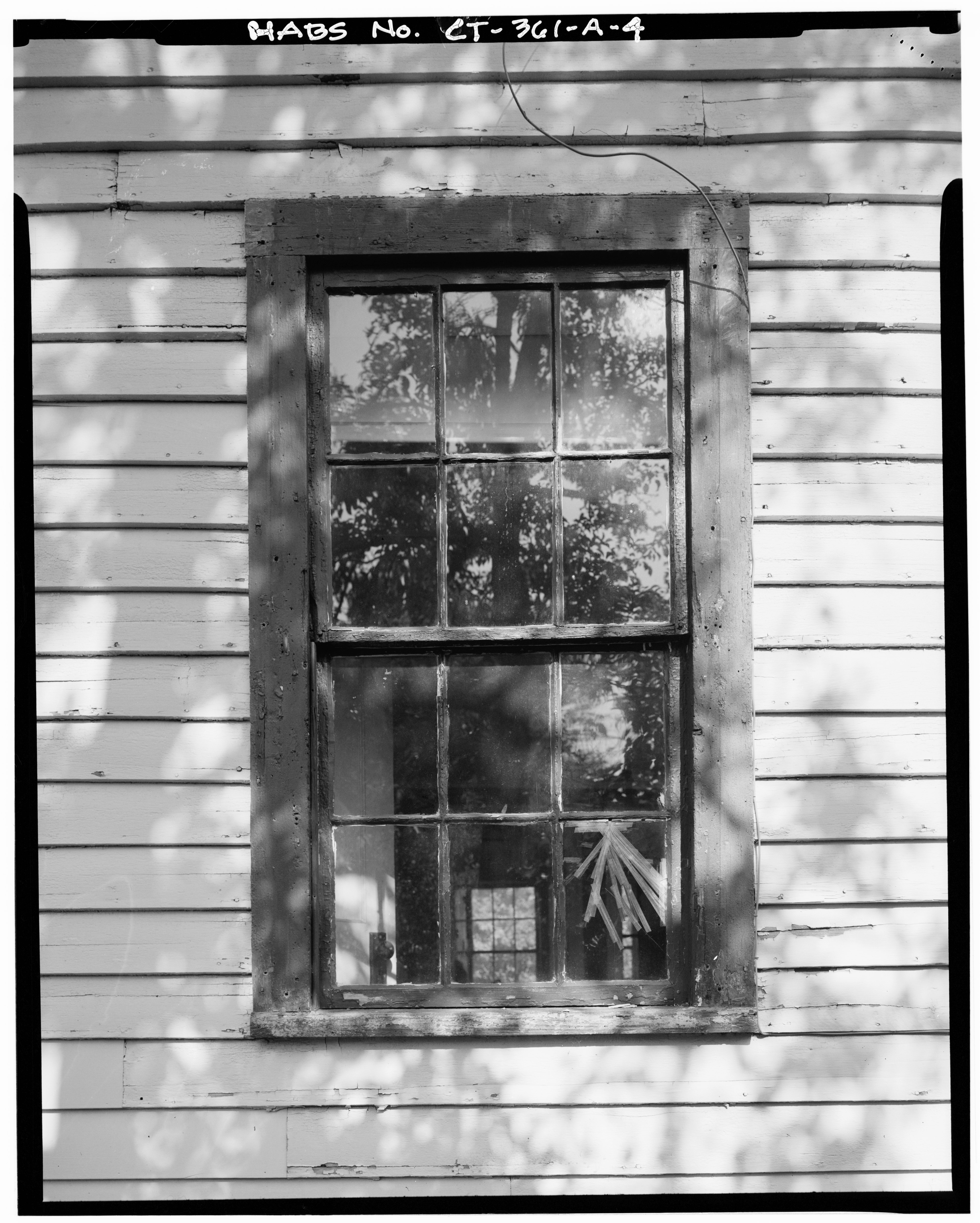 File view south detail of typical window putnam for Wisconsin window manufacturers