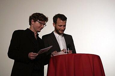 VIS - Vienna Independent Shorts 2014 opening Gartenbaukino Daniel Ebner Benjamin Gruber 1.jpg