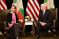 VP Mike Pence and Aung San Suu Kyi at 33rd ASEAN Summit (2).jpg