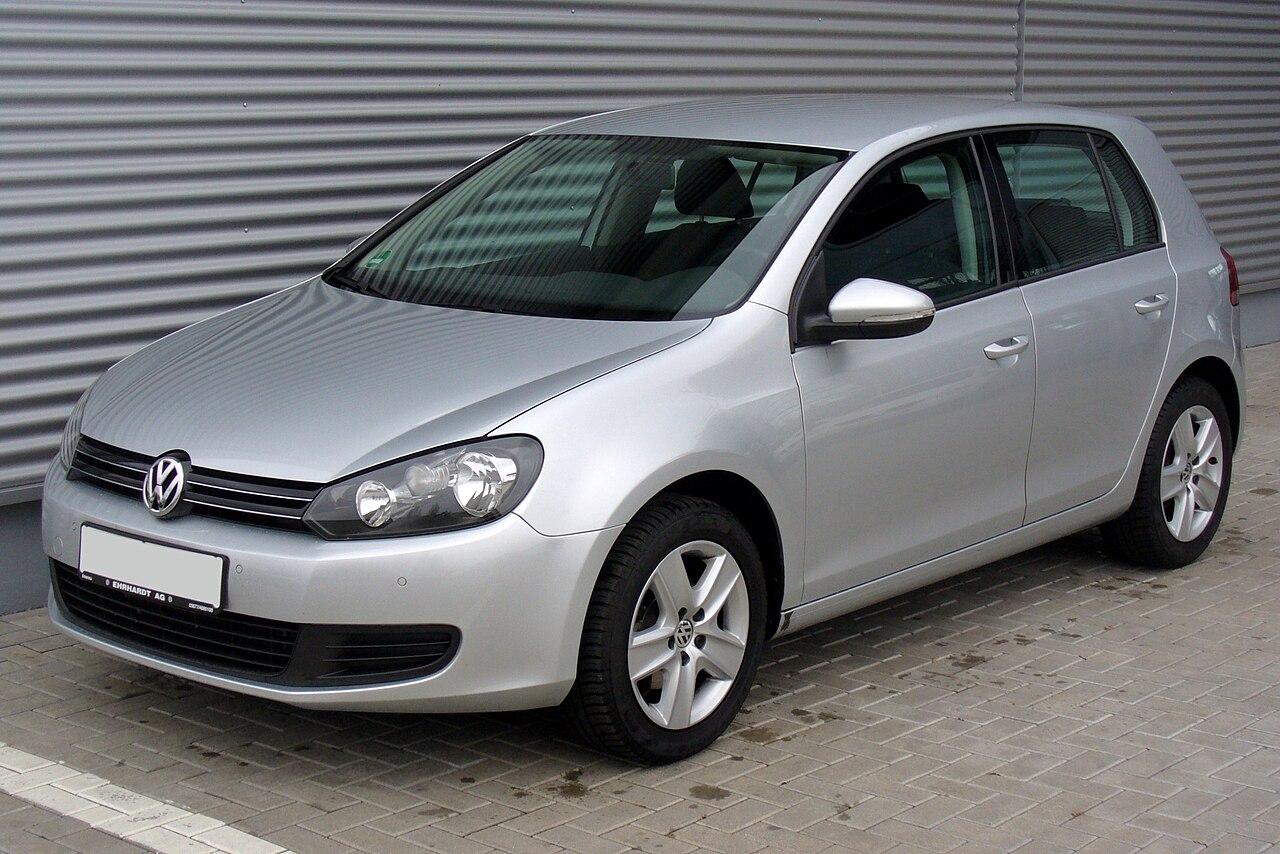 VW Golf Fünftürer (2008–2012)