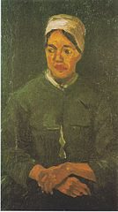 Peasant Woman, Seated (Half-Figure)