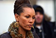 Williams arriving at the 2007 Mercedes-Benz Fashion Week at Bryant Park in New York City on February 9, 2007