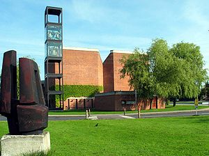 Johan Otto von Spreckelsen - Image: Vangede Kirke 2005 01