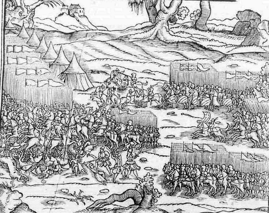 Varna 1444 Polski Kronika from 1564