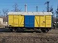 Vasútállomás, 99 55 958 3 009-3 szerszámtároló vasúti pályafenntartó jármű, 2019 Aszód.jpg