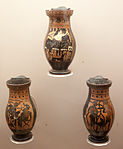 Vases by the Painter of Rhodes (510-500 BC).jpg