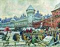 Vasnetsov Ot'ezd s kulachnogo boya 1900s.jpg