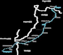 Lechweg Karte.Lechweg Wikipedia