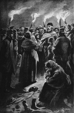 Verne - Les Naufragés du Jonathan, Hetzel, 1909, Ill. page 244