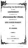 Verzameling van spreekwijzen en eenige gesprekken tot oefening in de Javaansche Taal.pdf