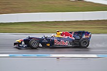 Photo de la Red Bull RB6 de Vettel en Allemagne