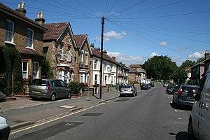 Waddon - Image: Vicarage Road, Croydon geograph.org.uk 882738