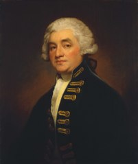 Vice-Admiral Sir Joshua Rowley, 1734-90