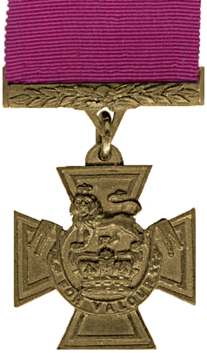 Nathaniel Burslem - Image: Victoria Cross Medal without Bar
