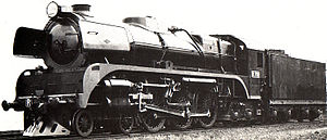 Victorian Railways R class - Victorian Railways publicity photograph of R 701, 1951